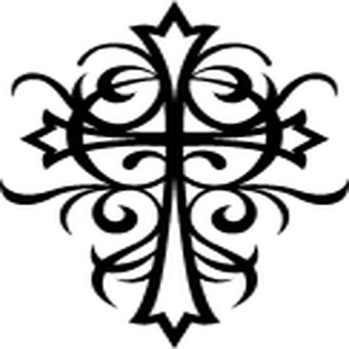 Как рисовать кресты из - 87