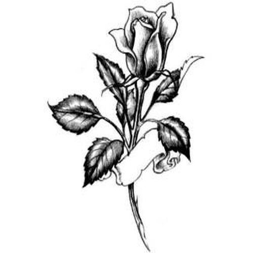 Тату с розами
